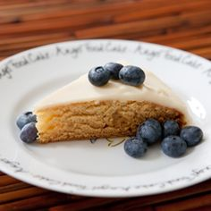 Agave Sweetened White Cake with Vanilla Buttercream Frosting