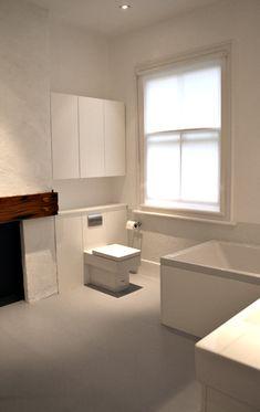rogue-designs interior designer oxford, interior architecture oxford, custom interior design oxford: minimal london bathroom