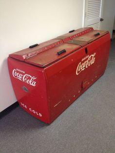 RARE-Antique-Vintage-Westinghouse-Coca-Cola-cooler-1947