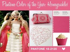 Pantone 2011 Color of the Year: Honeysuckle!