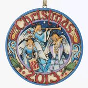 Heavenly Host of Angels 2013 Christmas Ornament