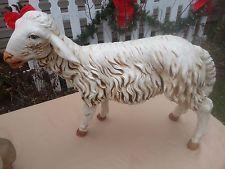"Vtg Fontanini 50"" Scale Sheep Nativity Statue 52336 Made Italy Simonelli 1987?"
