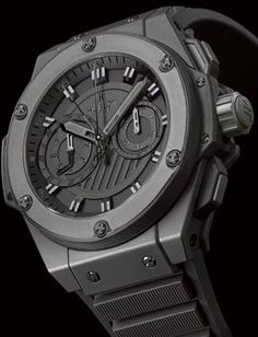 Time is of the essence!  Love my Hublot!!