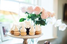 I'm a sucker for the sweet stuff. don't these treats just look completely irresistible? knows how to throw a good party! Let's Get Married, Getting Married, Marry Me, Best Part Of Me, Sweet Stuff, Macarons, Proposal, Party Favors, Sweet Treats