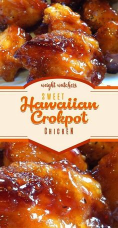 Sweet Hawaiian Crockpot Chicken Recipe - Sweet Hawaiian Crockpot Chicken Re . - Sweet Hawaiian Crockpot Chicken Recipe – Sweet Hawaiian Crockpot Chicken Recipe – Tasty Foods R - Crock Pot Recipes, Crockpot Dishes, Slow Cooker Recipes, Cooking Recipes, Crock Pots, Best Food Recipes, Meal Recipes, Recipies, Tasty Recipes For Dinner