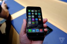 iPhone 6 or Plus hands on The Verge