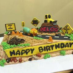 #constructioncakes #cakeoftheday #happybakerdelights