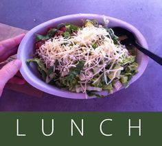 •June 3rd 2013 - W17D6 - Lunch - Chipotle chicken burrito bowl without rice.