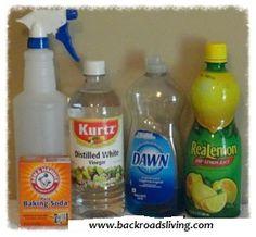 Homemade Bathroom Cleaner - Back Roads Living