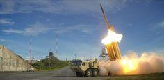 #موسوعة_اليمن_الإخبارية l الجيش الأمريكي ينجح في اعتراض صاروخ عابر للقارات