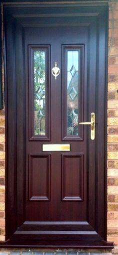 External Doors uPVC made come in 7 colours, including Rosewood and Oak. If you're wanting a Brown uPVC Front Door, you'll need a new uPVC Door in Rosewood. Click the link to find a uPVC Back Door & our uPVC Doors for sale.  #upvcfrontdoor #upvcfrenchdoors #upvcporchideas #upvcwindow #upvcdoor #upvc #upvcbackdoor #homedecor #homeideas