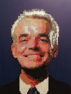 A personal favorite from my Etsy shop https://www.etsy.com/listing/519590247/leland-palmer-twin-peaks-portrait-6