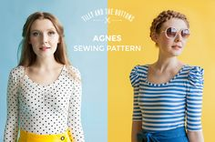 Tilly and the Buttons: Learn to Sew Jersey Tops - Take Our Online Workshop From Home!