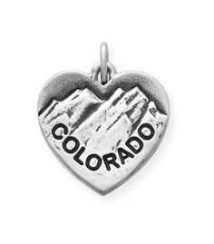 I Love Colorado Charm | James Avery-good memories from our Colorado trip