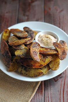 Ranch Roasted Fingerling Potatoes with Buffalo Yogurt Dipping Sauce! All winnings from the contest will go help support the A21 Campaign!