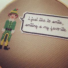 Buddy the Elf by jacqueline