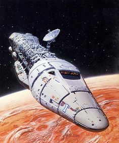 Welcome To Mars by Peter Elson, Science Fiction Illustrator #peterelson