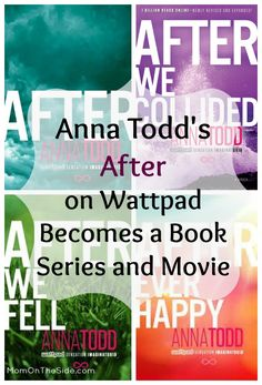 Anna Todd's After on Wattpad Becomes a Book Series and Movie #aftersaga #spon