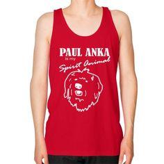 Paul Anka - Unisex Fine Jersey Tank (on man)