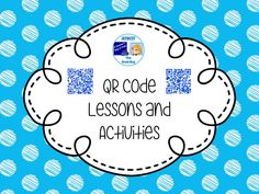 QR Codes Lessons and Activities Pinterest Board