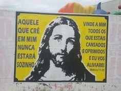 Enquanto isso em uma parede qualquer de São Vicente...