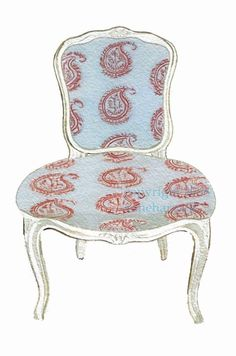 Interior - Paisley Chair