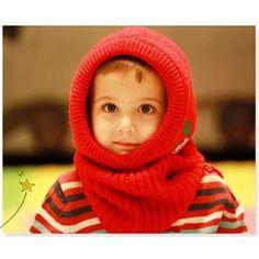 New Arrival Unisex Kids Knitted Crochet Winter Warm Hats Cap Scarf Shawl Earflap Beanie Crochet Winter, Knit Crochet, Earflap Beanie, Hooded Scarf, Baby Warmer, Knitting For Kids, Baby Hats, Baby Boy Outfits, Boy Fashion