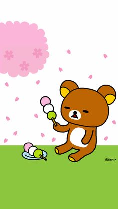 Rilakkuma Wallpaper, Sanrio Characters, Disney Characters, Fictional Characters, Molang, Funny Times, Pusheen, Cartoon Wallpaper, Kawaii Anime