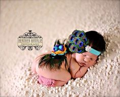 LIMITED - The Presley - Peacock Feathered Butterfly Wings and Headband (Set) - Perfect Newborn Photo Prop by LilBirdsCouture on Etsy https://www.etsy.com/listing/152085298/limited-the-presley-peacock-feathered
