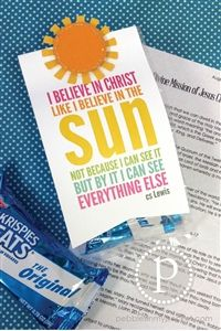 $2.99 August 2014, Visiting Teaching Message & Trea from Pebbles in My Pocket