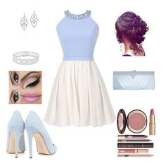 """Homecoming 2015"" by the-light-behind-your-eyes ❤ liked on Polyvore featuring Dee Keller, Stephen Webster, Finesque, Charlotte Tilbury and GCGme"