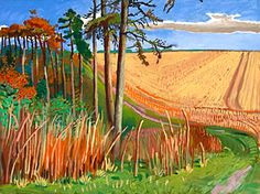 Warter Pines  -David Hockney