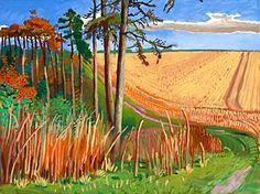 Warter Pines  -David Hockney