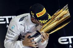 Lewis Hamilton, F1 world Champion 2014 #F1 #Champion #motorRacing