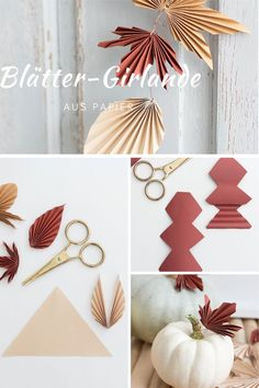 Cool Paper Crafts, Cardboard Crafts, Paper Crafts Origami, Cardboard Boxes, Diy Fleur Papier, Papier Diy, Easy Halloween Decorations, Paper Decorations, Fall Crafts