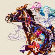 An incredibly detailed embroidery by Lauren DiCioccio comes to life as the centrepiece for London agency Antidote's campaign for Royal Ascot, one of the most prestigious events of the sporting, social & style calendars.