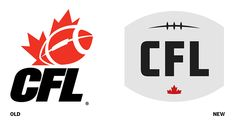 Canadian Football League Fumbles New #Logo - If you're not Canadian you can be forgiven for not knowing that we of the Great White North have long had our very own football league. In fact, Canada introduced football to North America way back in the nineteenth century.