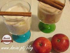 Delícia de Maçã e Canela com Iogurte