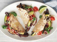 Portobello-and-Zucchini Tacos | KitchenDaily.com