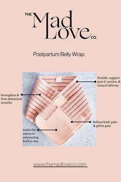 Postpartum Must Have Postpartum Belly, Postpartum Recovery, Postpartum Care, Hospital Bag Essentials, Hospital Bag Checklist, Pregnancy Gifts, Post Pregnancy, Postpartum Must Haves, Relieve Back Pain