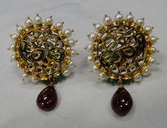 vintage antique 22 K gold Diamond Polki peacock by TRIBALEXPORT http://WeeklyYouthPay.com/?ref=463326