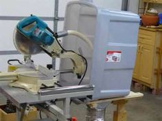 Mitre saw dust collector