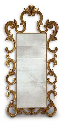 Antique mirror glass  #mirror #antique #vintage