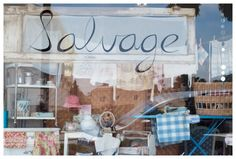Salvage in Morro Bay-bought my wooden ironing board there.