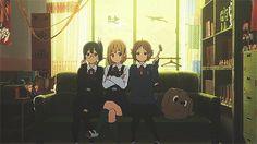 Tamako Market / Tamako Love Story | Kyoto Animation / Tokiwa Midori, Makino Kanna, and Asagiri Shiori