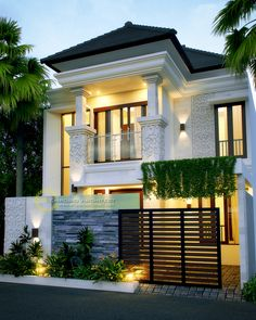Here are the Modern Home Design That Can Inspire You. This article about Modern Home Design That Can Inspire You … Simple House Design, Rustic Home Design, House Front Design, Minimalist House Design, Cool House Designs, Modern House Design, 2 Storey House Design, Balkon Design, Dream House Exterior