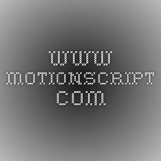 Scripts for After Effects | www.motionscript.com