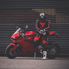 Leather biker