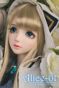 RING DOLL DOLL Alice01   総合ドール専門通販サイト - DOLKSTATION(ドルクステーション) Anime Dolls, Bjd Dolls, Barbie Dolls, Girl Dolls, Anime Kawaii, Kawaii Doll, Pretty Dolls, Cute Dolls, Beautiful Dolls