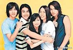 members Jerry Yan, Vic Zhou, Vanness Wu, and Ken Chu Ken Chu, F4 Members, Jerry Yan, F4 Meteor Garden, Drama Series, Just For Fun, Taiwan, Dramas, Handsome